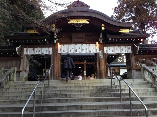 Koma Shrine: 本殿