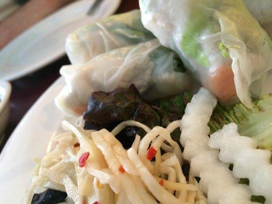 Bui Vietnamese Cuisine: Summer Rolls