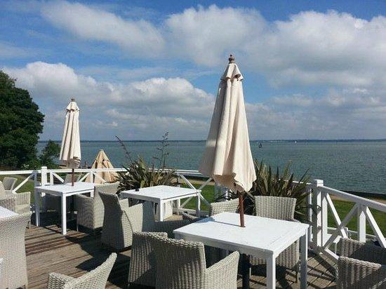 Warner Leisure Hotels Norton Grange Coastal Resort: The terrace area