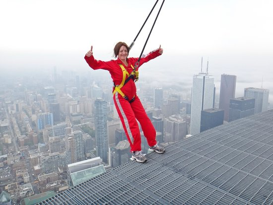 Edge Walk at the CN Tower: My Edgewalk at CN Tower