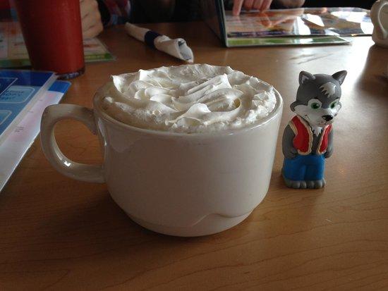 IHOP: Чашечка сливочного капучино