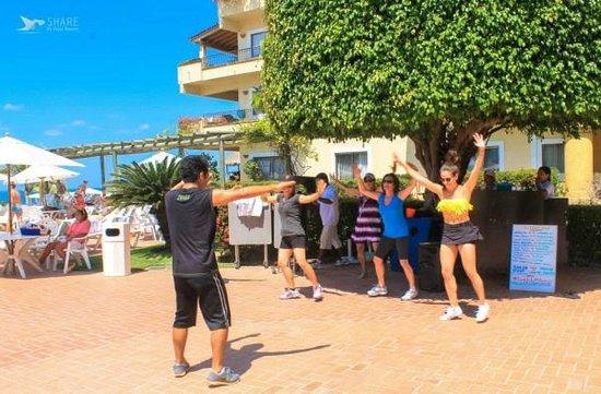 Zumba Fitness Classes at Velas Vallarta.