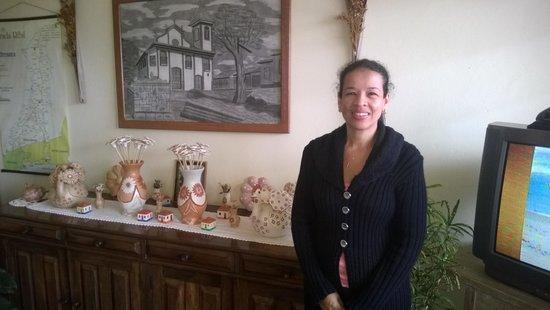 Hotel Montanhas de Minas: Recepção