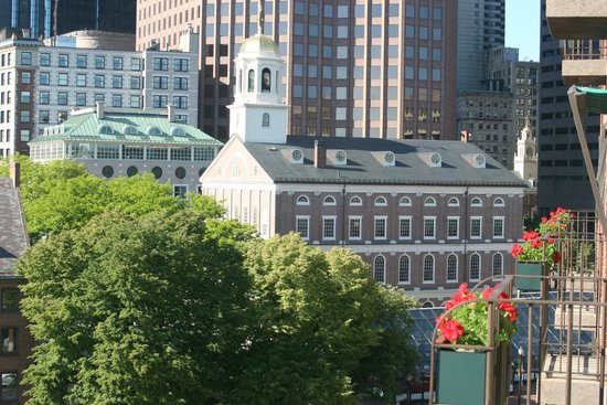 The Bostonian Boston: View from step out balcony