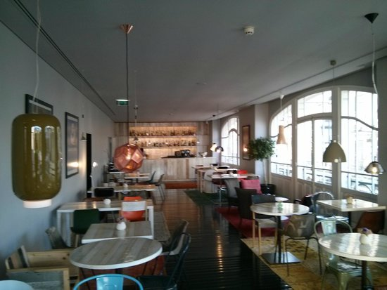 Internacional Design Hotel: Sala da pranzo
