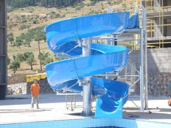 Big4 Cania Gorge Holiday Park: The slide - if you dare!!