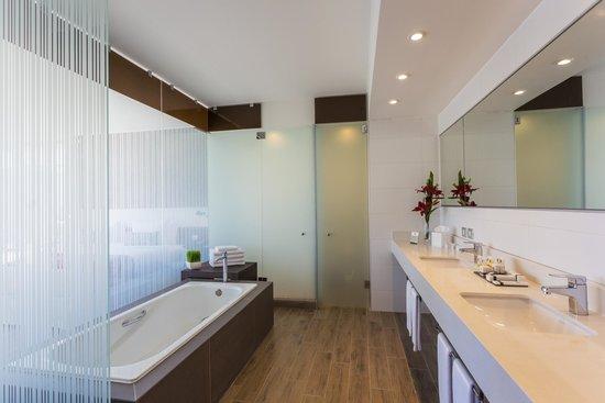 Hotel Plaza El Bosque Nueva Las Condes: baño junior suite