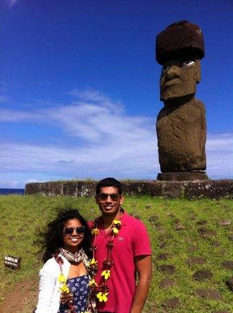 Mamma Nui : turistas domo