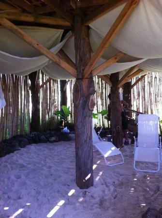Mamma Nui: area de descanso