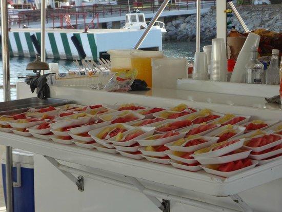 Marietas Islands : Desayuno del barco