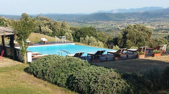 Boschi di Montecalvi: infinity pool