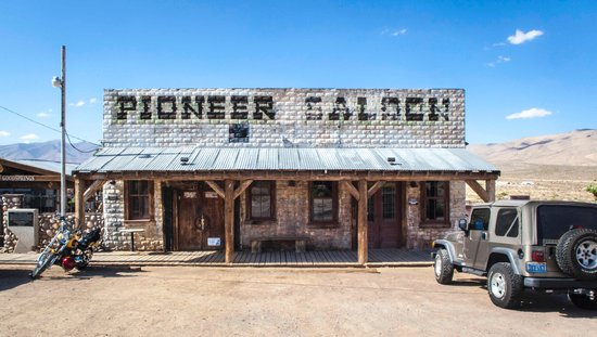 Pioneer Saloon -- Ghost Town Cafe