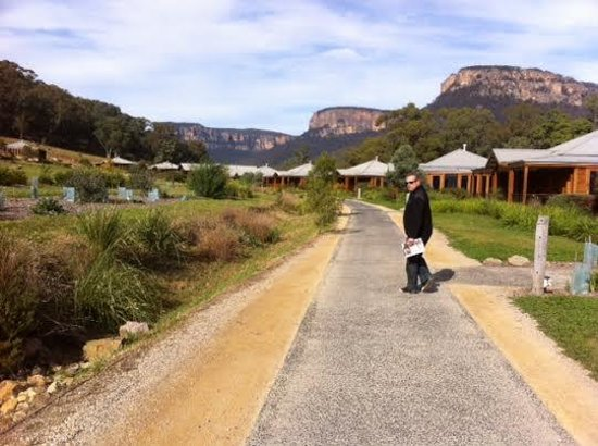 Emirates One&Only Wolgan Valley: Morning walk after breakfast