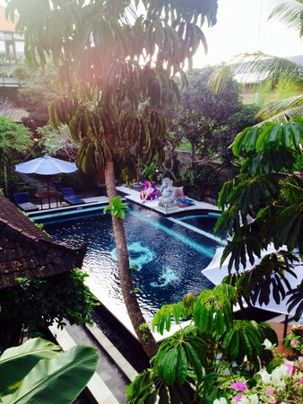 "Ubud Aura Retreat: The view from ""Lotus"""