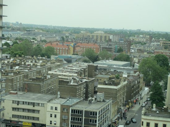 Hilton London Metropole: View from room