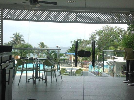Hilton Cartagena: terraza restaurante