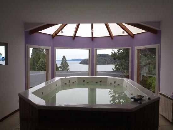 Altuen Hotel Suites&Spa: vista desde el jacuzzi