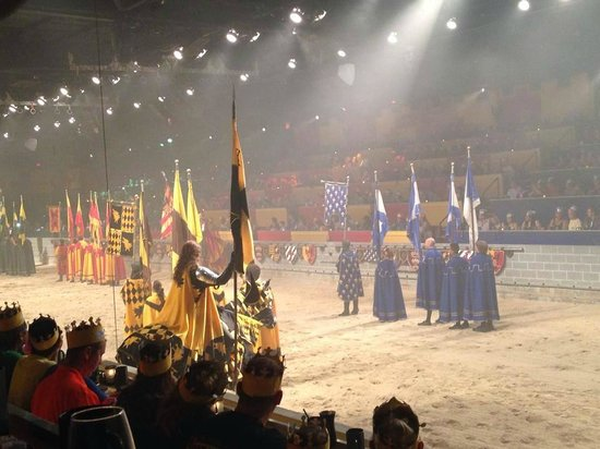 Medieval Times Dinner & Tournament: Beginning of the show