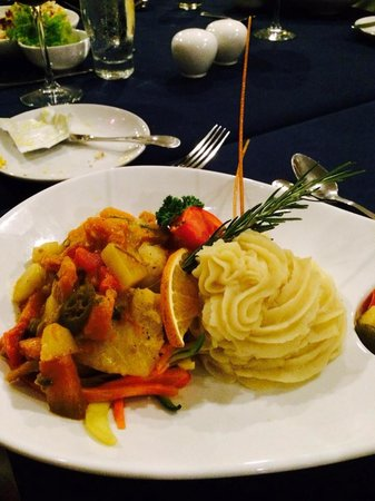 The Jamaica Pegasus Hotel: Fabulous dinner