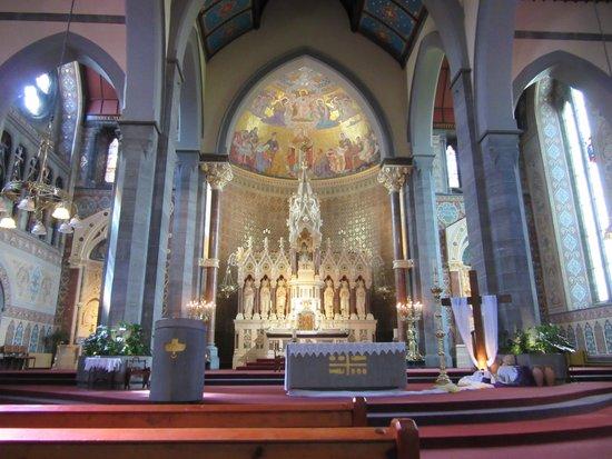 Redemptorist church altar
