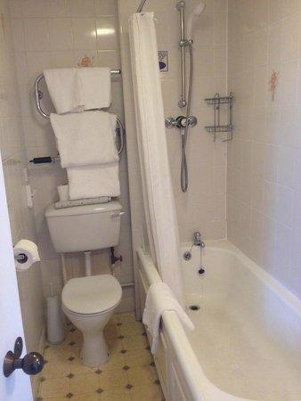 The Green Hotel: bathroom