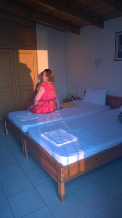 Lygia, Grecia: Look of the room (two beds)