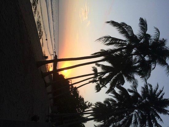 The Chandi Boutique Resort & Spa : Sunset