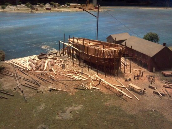 Mystic Seaport: scale model