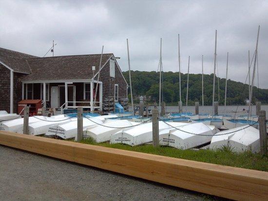 Mystic Seaport: small boats
