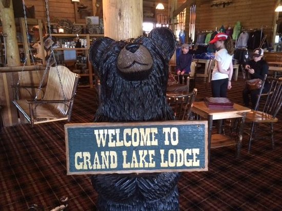 Grand Lake Lodge: Welcome