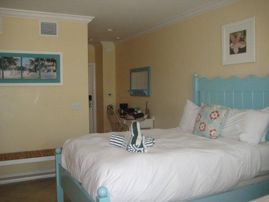 Parrot Key Hotel and Resort: bottom floor room #15a