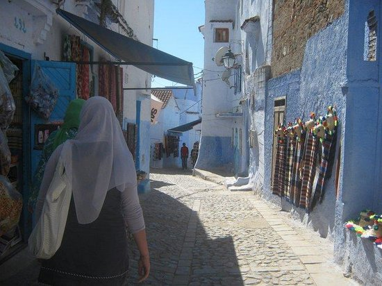 Vieille ville de Chefchaouen : Throught the streets