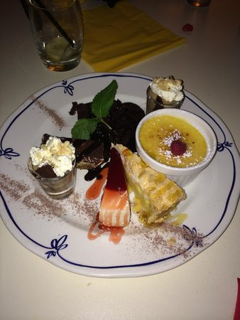 Divino: selection of their desserts