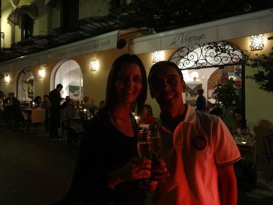 Da Vincenzo: Espera com Prosecco... Adoramos tudo!!
