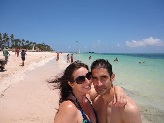 Secrets Royal Beach Punta Cana: At the beach!