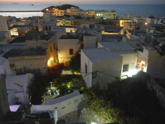 Despina's Rooms : vista porto e tempio di Apollo