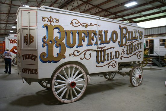 "Circus World: ""Ticket"" Wagon, Simple but Elagant."