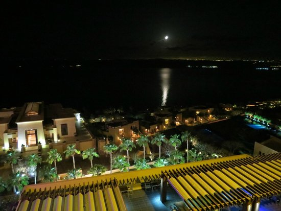 Kempinski Hotel Ishtar Dead Sea : View from regular room