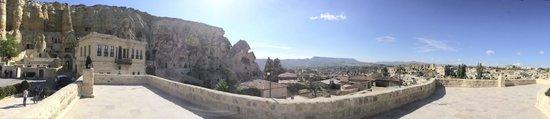 Yunak Evleri: panaramic view from deck