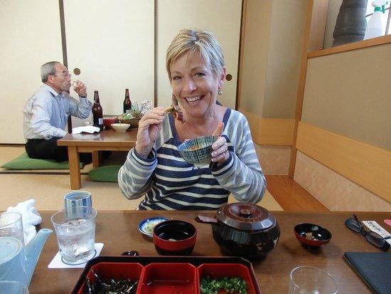 Atsuta Horaiken Jingu Minamimonten: It was delicious!