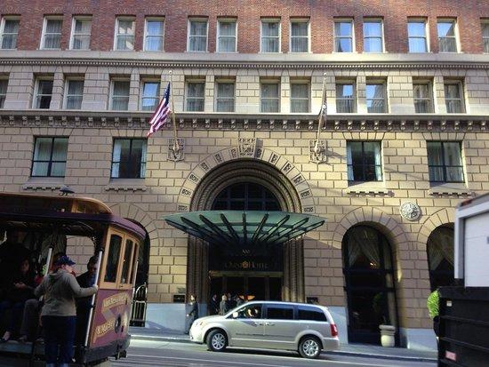 Omni San Francisco Hotel: ホテルエントランス