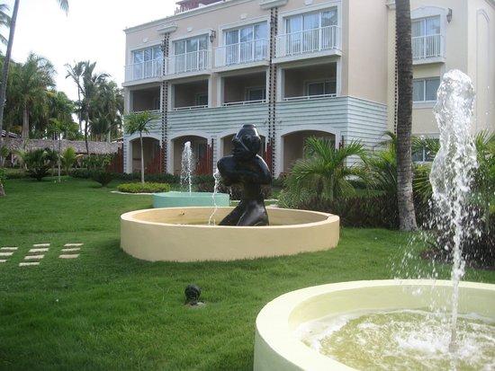 Grand Palladium Bavaro Suites Resort & Spa: Our Patio Area