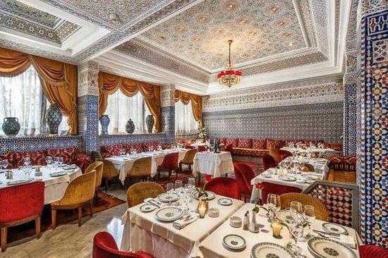 Basmane : vue sur le restaurant