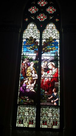 Cathedral of Saint John the Baptist: Beautiful stained glass windows