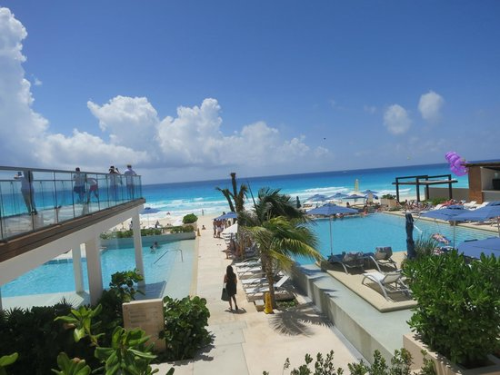 Secrets The Vine Cancún: Breathtaking view from the hotel