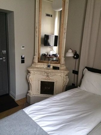 Nobis Hotel: Room 107 - lovely but tiny
