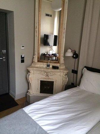 Nobis Hotel : Room 107 - lovely but tiny