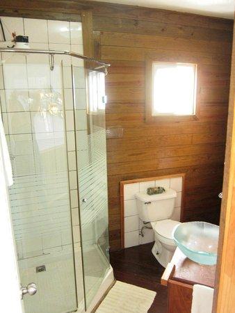El Faro del Colibri: Bathroom