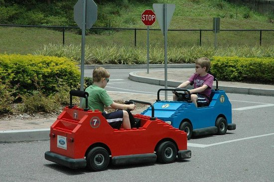 LEGOLAND Florida Resort: Driving school