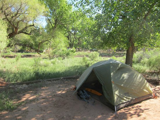 Watchman Campground: Group F Site